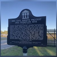 1963 Civil Rights Protest Jail Overflow Site