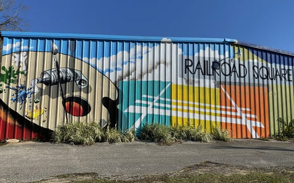 Railroad Square Mural