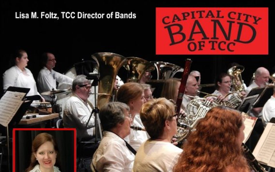 CANCELLED – Capital City Band of TCC Spring Concert