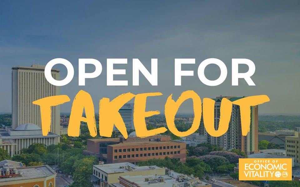 Open for Takeout! Place Your Takeout or Delivery Order