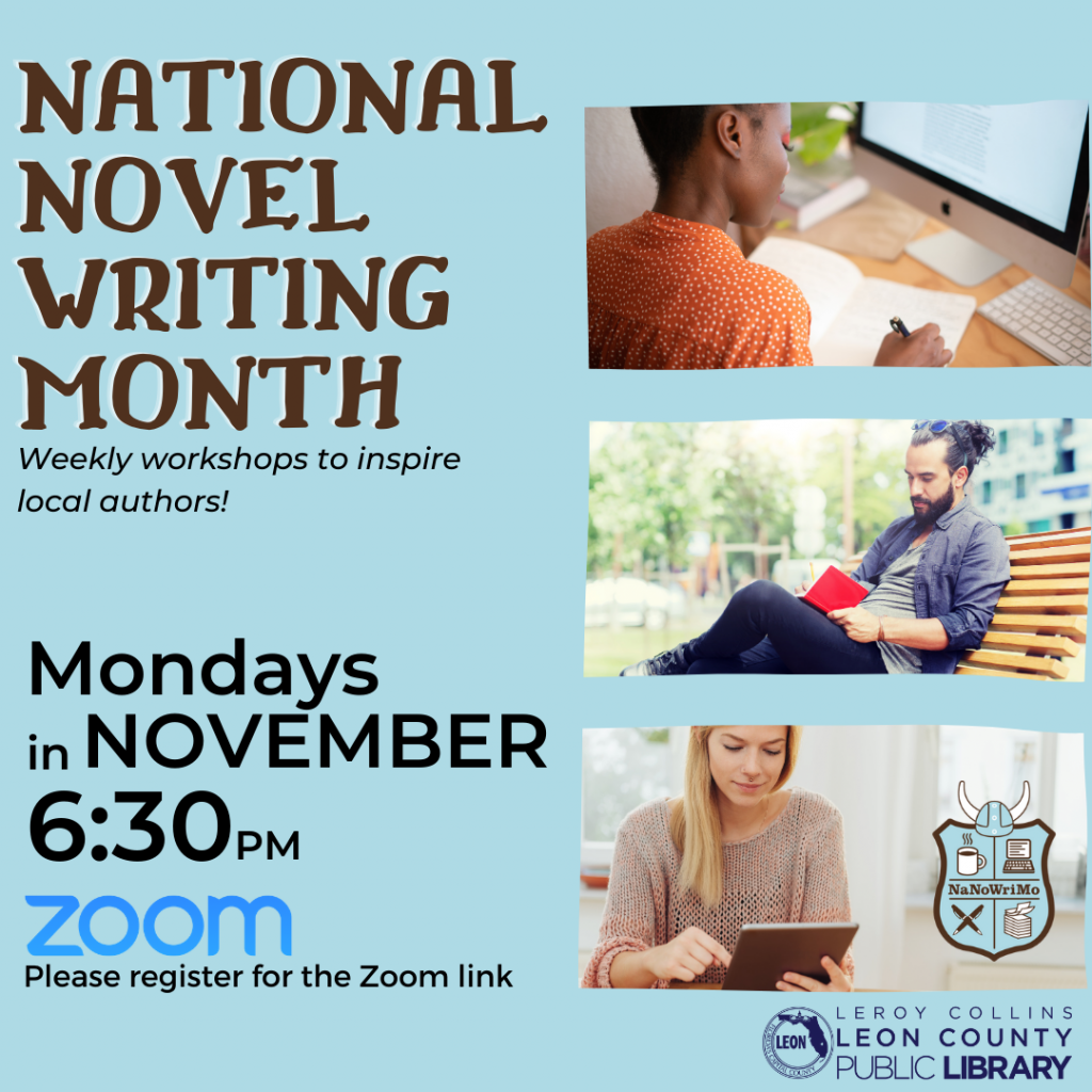 National Novel Writing Month Events