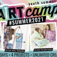 4 Day Summer Camp Morning Session - Animals, Rainbow Pom, Pillow, Sign