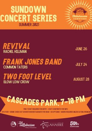 Sundown Concert Series: Frank Jones Band with special guest Common Taters